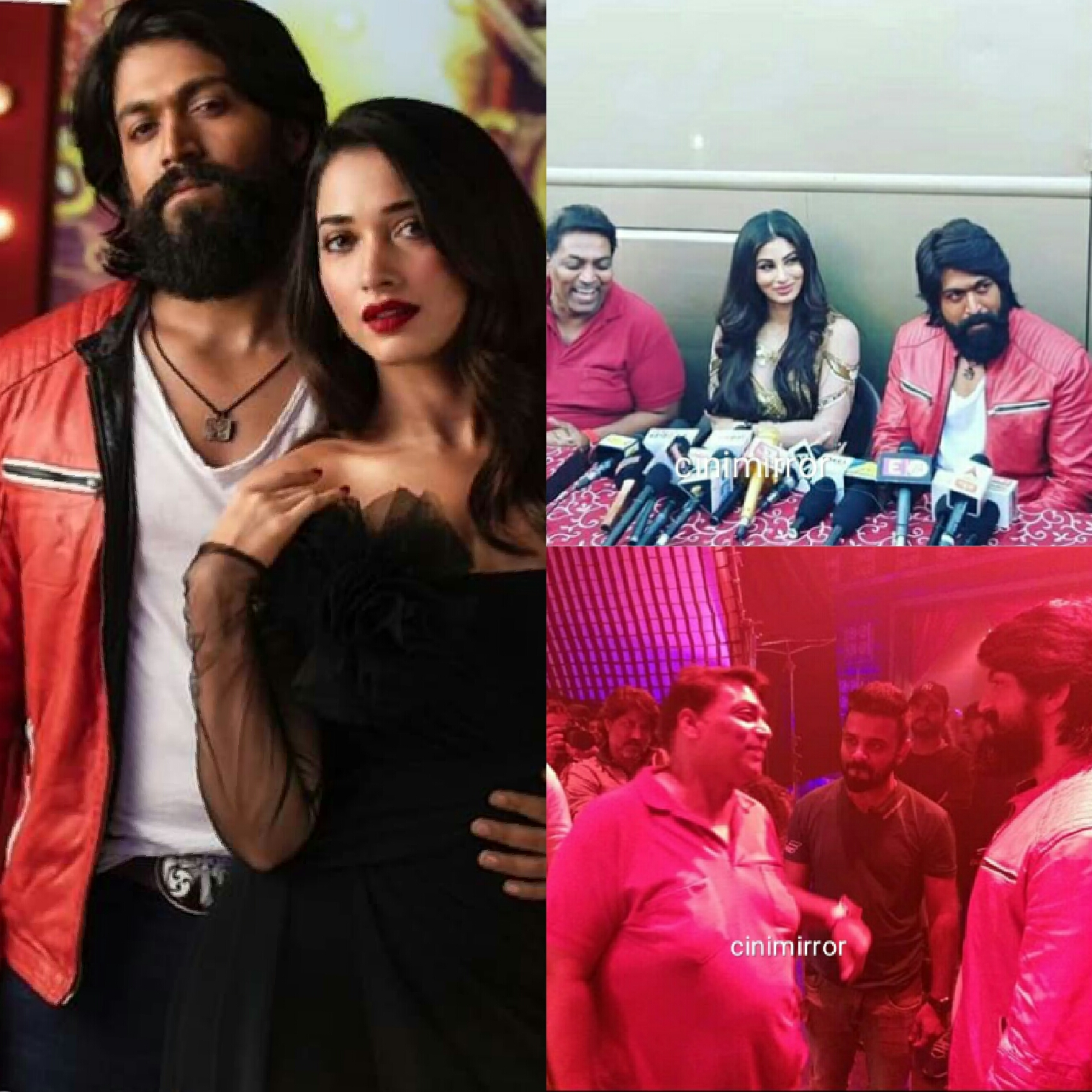 KGF item song has Tamannaah for south and Mouni Roy for