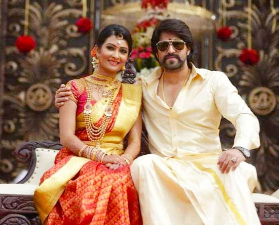 Yash and Radhika Pandit gives voice over to Girmit movie | Cini Mirror